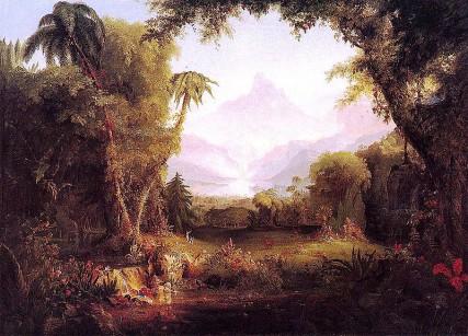 Garden of Eden painting/Wikipedia