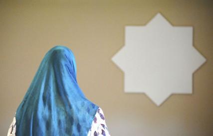 Celebrating the end of Ramadan at the Islamic Center of Spokane.