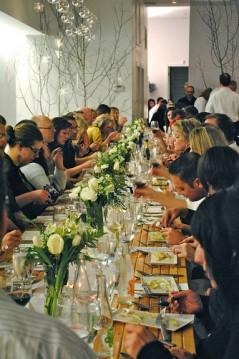 Big Table dinner held at the Purple Turtle