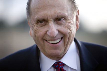 Thomas S. Monson. Photo by Brian Tibbets (tibbets.org)