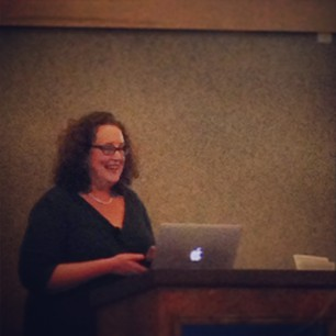 Professor Andrea Lieber speaks about feminism and Judaism at Gonzaga.