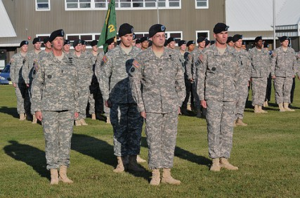 472nd Military Police Uncase the Colors at Fort Wainwright