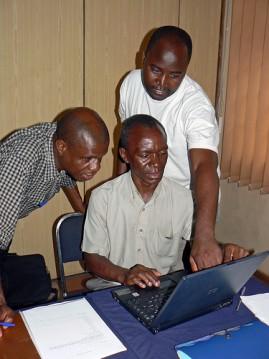 Teachers meet in Zambia