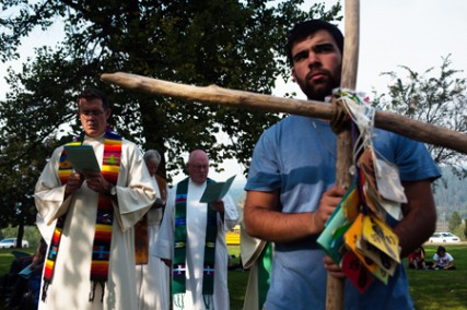 The retreat, which includes prayer for the new academic year, provides an authentic experience of Gonzaga?s living mission and its commitment to faith and justice.