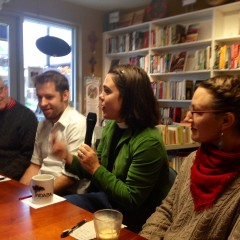 Panelists at the November Coffee Talk.