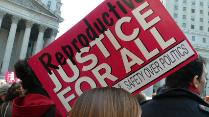 Planned Parenthood Rally, NYC 2011. Photo by Charlotte Cooper/Flickr