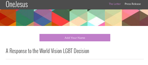 Local online initiative calls for Christian institutions to hire gay Christians