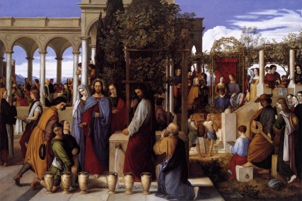 Wedding Feast at Cana, 1819 oil painting