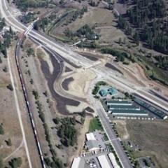 DOT photo of Cheney-Spokane Road Interchange