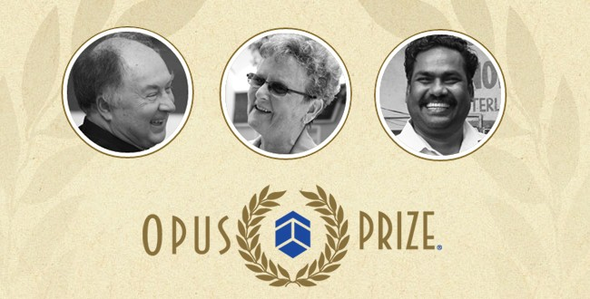 BRIEF: Free tickets available for Opus Prize Award ceremony & reception
