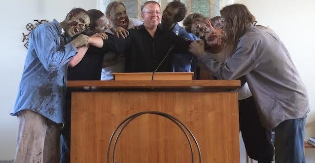 Zombies take over the Unitarian Universalist Church of Spokane