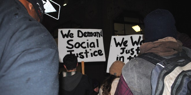 Spokane joins in Ferguson Grand Jury protests