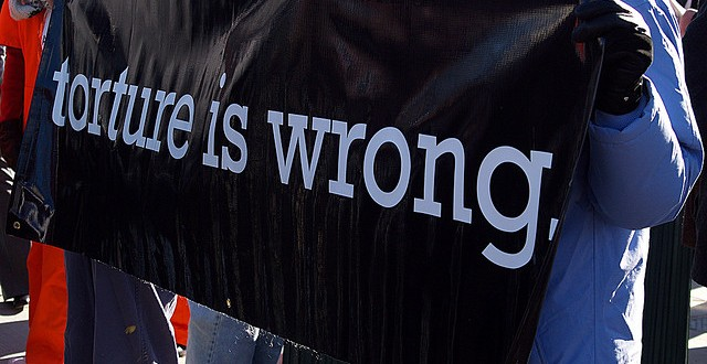 Protesting Torture: What's in a sign?