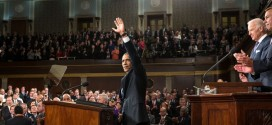 In hopeful address, Obama highlights economy, middle-class concerns