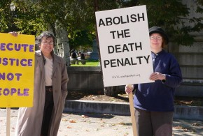 NHCADP Protest - World Day Against the Death Penalty. Flickr photo by federico148
