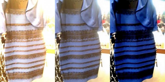 The gold or black dress debate shows the nature of knowledge, compassion