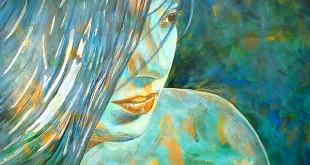 Adriana: Blue Goddess/By Javier Avellan Veloz - Flickr