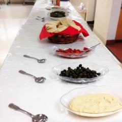 Appetizers at Holy Trinity Greek Orthodox/Erin Robinson - SpokaneFAVS