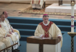 After being installed as the Seventh Bishop of the Catholic Diocese of Spokane, The Most Reverend Thomas A. Daly speaks. Colin Mulvany The Spokesman-Review