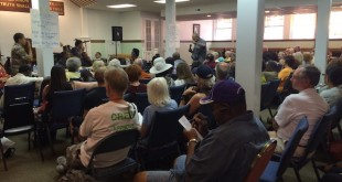 More than 100 people attended a Spokane NAACP meeting on June 29/Tracy Simmons - SpokaneFAVS