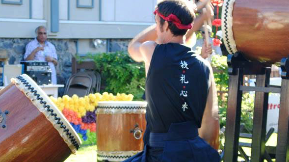 Drummer at the 2013 Obon Festival/Tracy Simmons - SpokaneFAVS