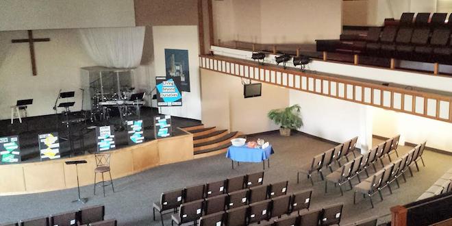 Spokane First Assembly of God sanctuary/Sarah Taylor - SpokaneFAVS
