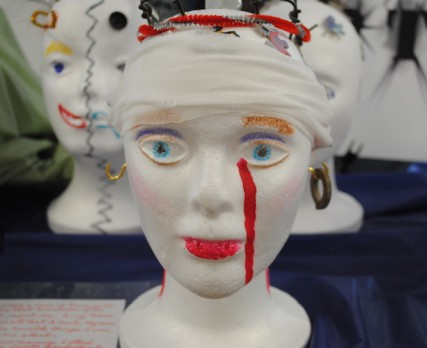 """My brain on PTSD"" created by veterans/Tracy Simmons - SpokaneFAVS"