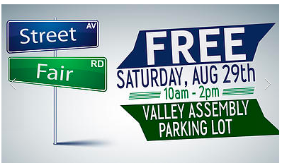 Community Outreach Street Fair @ Valley Assembly of God