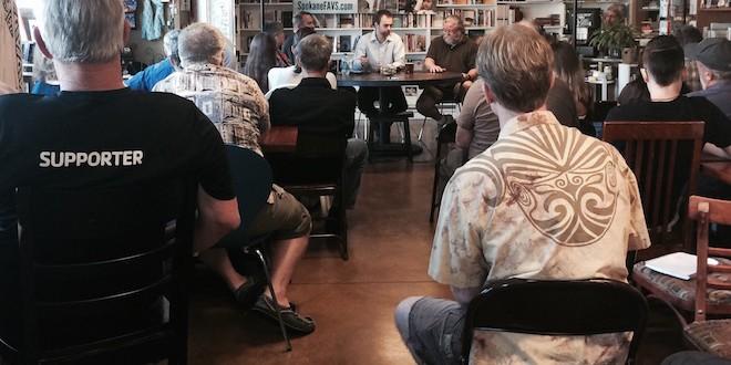 August Coffee Talk/Tracy Simmons - SpokaneFAVS