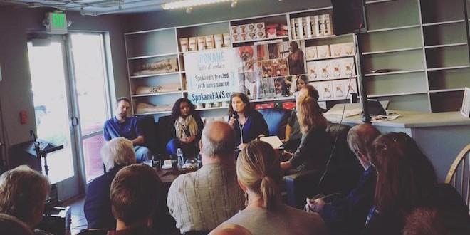 Coffee Talk photo by Jan Shannon