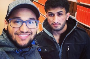 Senior Ahmed Alabdi, (left) and Mahboob Daloush (right) are trying to re-start the Muslim Student Association at EWU/Contributed photo
