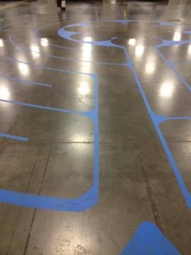 Labyrinth photo by Kimberly Burnham/SpokaneFAVS