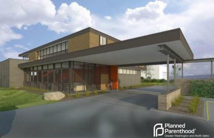 Rendition of the new Planned Parenthood facility in Spokane/Courtesy Planned Parenthood of Greater Washington and North Idaho