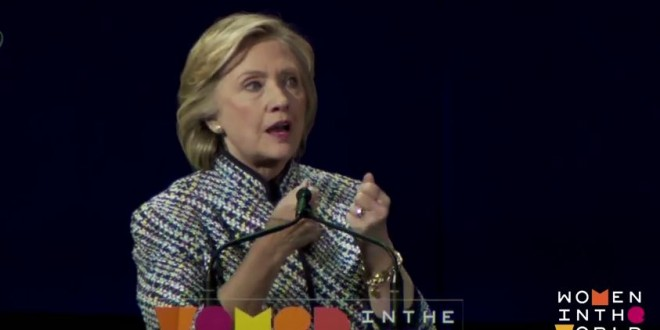 Hillary Clinton: Americans must change religious beliefs to