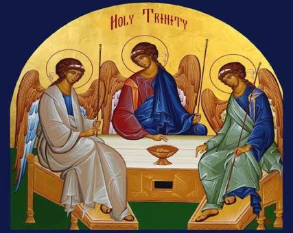 Iconography of trinity