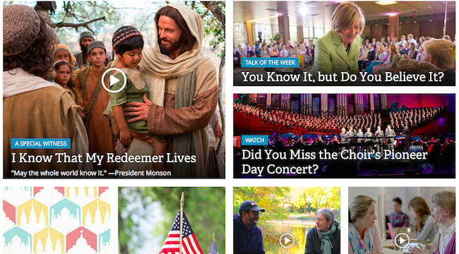 Ask A Mormon Why Dont Lds Stakeswards Have Individual Websites