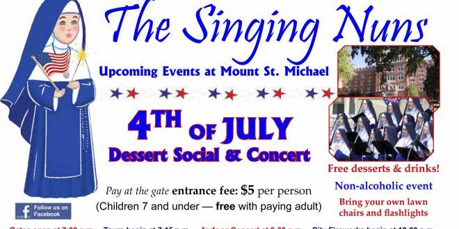 The Singing Nuns Christmas Concert, Mt. St. Michael Convent 2020 Spokane's Singing Nuns to perform 4th of July Concert   SpokaneFāVS