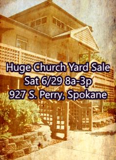 Huge Buddhist Church Rummage Sale - SpokaneFāVS