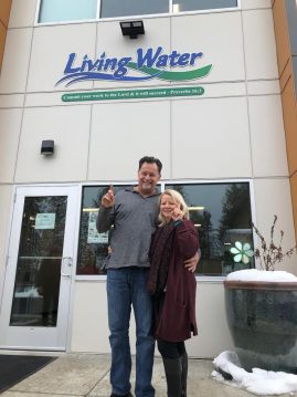 The Fairburns started Living Water nearly 30 years ago/Contributed